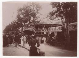 ° 92 ° NEUILLY ° LA FETE ° 12 JUIN 1898 ° LOT De 3 PHOTOS ° - Neuilly Sur Seine