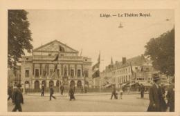 CPA - Belgique - Liège - Le Théâtre Royal - Liege