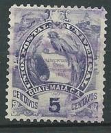 Guatemala  -   - Yvert N° 47 Oblitéré   - Ava28009 - Guatemala
