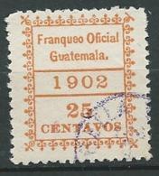Guatemala  - Service   - Yvert N° 5 Oblitéré   - Ava28022 - Guatemala