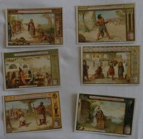 LIEBIG - Lot De 6 Cartes - Joas/Samson:Salomon/Ruth Et Noémi/Balthazar/David Et Goliath - Voir 2 Scans - Liebig