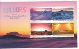 2015 Australian Antarctic Territory Colours Miniature Sheet Of 4 MNH - Australisch Antarctisch Territorium (AAT)