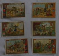 LIEBIG - Lot De 6 Cartes - Croisade - Godefroy De Bouillon/Pierre L'Ermite/Louis VIIPhilippe Auguste Et R - Voir 2 Scans - Liebig