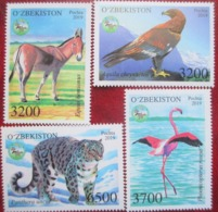 Uzbekistan  2019  Fauna  4 V   MNH - Uzbekistan