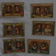 LIEBIG - Lot De 6 Cartes - Sculpteurs Célèbres - Voir 2 Scans - Liebig