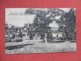Belle Terre Lodge Port Jefferson  Has Crease   New York > Long Island   Ref 3633 - Long Island