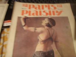 PARIS PLAISIRS /SUZY PIERSON/DEAUVILLE /MAURICE MILLIERE /CIRQUE MOLIER / LORENZI HEURE DU BAIN - Livres, BD, Revues