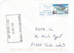 OBLITERATION MILITAIRE AP SPID 148. ROISSY SPID. Timbre De Carnet - Marcophilie (Lettres)