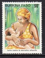 1985 Burkina Faso Infant Mortality Health Complete Set Of 1 MNH - Burkina Faso (1984-...)