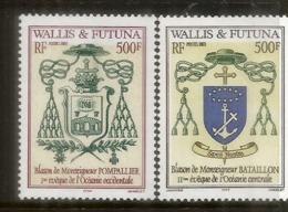 Blasons Des îles Wallis & Futuna. 2 Timbres Neufs **, Années 2002 & 2003. Côte 25,00 Euro - Neufs