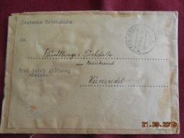 Lettre De 1946 De Wiesau Pour Wunsiedel - Zone Anglo-Américaine