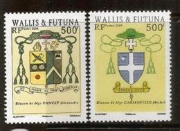 Blasons Des îles Wallis & Futuna. 2 Timbres Neufs **, Années 2008 & 2009. Côte 20,00 Euro - Neufs
