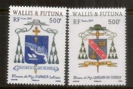 Blasons Des îles Wallis & Futuna. 2 Timbres Neufs **, Années 2010 & 2011. Côte 20,00 Euro - Neufs