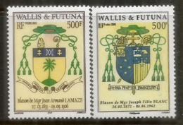 Blasons Des îles Wallis & Futuna. 2 Timbres Neufs **, Années 2005 & 2006. Côte 20,00 Euro - Neufs