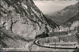 Ansichtskarte Brannenburg Wendelsteinbahn 1960 - Allemagne