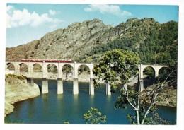 """Villefort - Alt. 605 M - Le Viaduc (Autorail  """"Micheline"""" Locomotive Et Voitures ) Pas Circulé - Villefort"""