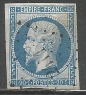 FRANCE - Oblitération Petits Chiffres LP 2411 PERROS-GUIREC (Côtes-d'Armor) - 1849-1876: Période Classique
