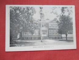 High School  Mattituck   New York > Long Island   Ref 3633 - Long Island
