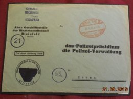 Lettre De 1946 De Bielefeld Pour Essen - Zone Anglo-Américaine