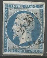 FRANCE - Oblitération Petits Chiffres LP 2423 PEYRELEAU (Aveyron) - Marcophilie (Timbres Détachés)