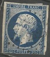 FRANCE - Oblitération Petits Chiffres LP 2425 PEYROLLES (Bouches-du-Rhône) - Marcophilie (Timbres Détachés)