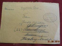 Lettre De 1946 De Andernach Pour Gottingen - Zone Anglo-Américaine