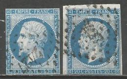 FRANCE - Oblitération Petits Chiffres LP 2427 PEZENAS (Hérault) - Marcophilie (Timbres Détachés)
