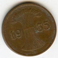 Allemagne Germany 1 Reichspfennig 1935 F J 313 KM 37 - 1 Reichspfennig