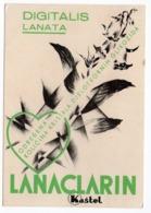 1933 YUGOSLAVIA, CROATIA, ZAGREB, KASTEL, PHARMACEUTICALS, LANACLARIN  ADVERTISEMENT, SENT TO DOLOVO, SERBIA - Medicine