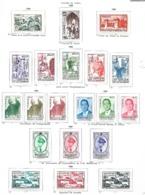 Maroc   1953 - 1958    Cat Yt N° LOT   Séries Complètes   N* MLH  Tb - Maroc (1891-1956)