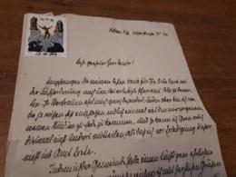 Old Letter - Additional Stamp, Revenue - Sonstige - Europa