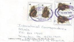 Jamaica 1997 Myers Wharf Jamaican Coney Geocapromys Brownii WWF Cover - W.W.F.