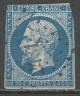 FRANCE - Oblitération Petits Chiffres LP 2431 PIEDICROCE (Haute-Corse) - Marcophilie (Timbres Détachés)