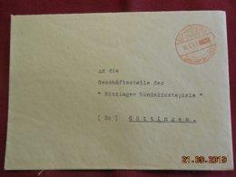 Lettre De 1947 De Schneningen Pour Gottingen - Zone Anglo-Américaine