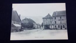 Bussang : La Place / Carte Précurseur 1900 / Editions A. Breger - Bussang