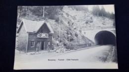 Bussang : Tunnel, Côté Français / Carte Précurseur 1900 / Editions A. Breger - Bussang