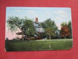 President Roosevelt's Home Oyster Bay   New York > Long Island   Ref 3634 - Long Island