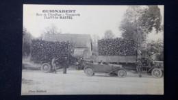 Flavy Le Martel - Bois De Chauffage - Transports GUIGNABERT - Entreprise Camion Et Automobile / Editions Mailliard - Other Municipalities