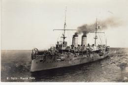 Tematica Trasporti - Barche/Guerra - R. Nave Marco Polo - - Guerra