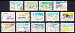 Portugal 1989 - Arquitectura Tradicional Portguesa / 14 Different Values - 1910-... République