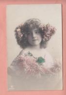 OLD PHOTO POSTCARD - CHILDREN - GIRL - FAMOUS GRETE REINWALD  (B) - Portraits