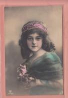 OLD PHOTO POSTCARD - CHILDREN - GIRL - FAMOUS GRETE REINWALD  (C) - Portraits