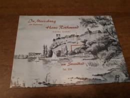 Old Travel  Guide - Germany, Meersburg - Andere