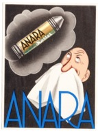 1939 YUGOSLAVIA, CROATIA, ZAGREB, KASTEL, PHARMACEUTICALS, ANARA, ADVERTISEMENT, SENT TO DOLOVO, SERBIA - Medicine