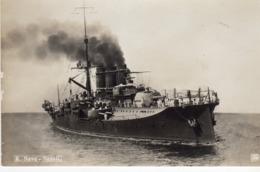 Tematica Trasporti - Barche/Guerra - R. Nave Napoli - - Guerra