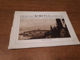 Old Travel  Guide - Croatia, Korčula - Andere