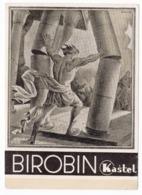 1938 YUGOSLAVIA, CROATIA, ZAGREB, KASTEL, PHARMACEUTICALS, BIROBIN, ADVERTISEMENT, SENT TO DOLOVO, SERBIA - Medicine