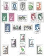 Maroc  Commémoratifs      Cat Yt N° LOT   Séries   Complètes   N* MLH  Tb - Maroc (1891-1956)