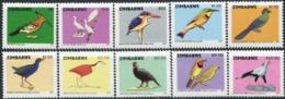 ZIMBABWE 2007 Birds Animals Fauna MNH - Andere