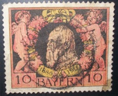 N°344E TIMBRE ANCIENS - ETATS BAYERN OBLITERE - Bavière